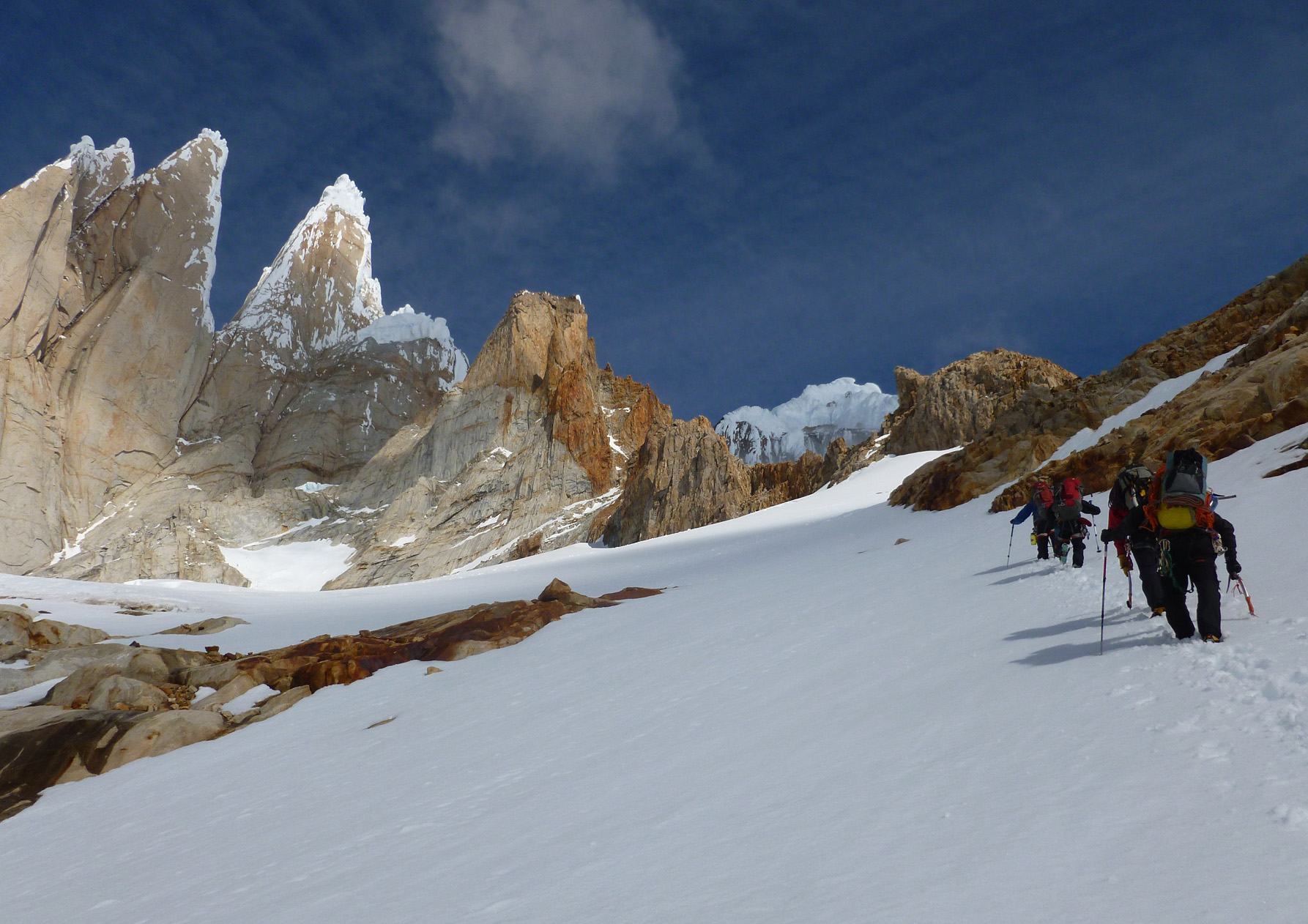 Transition trad to Alpine climbing