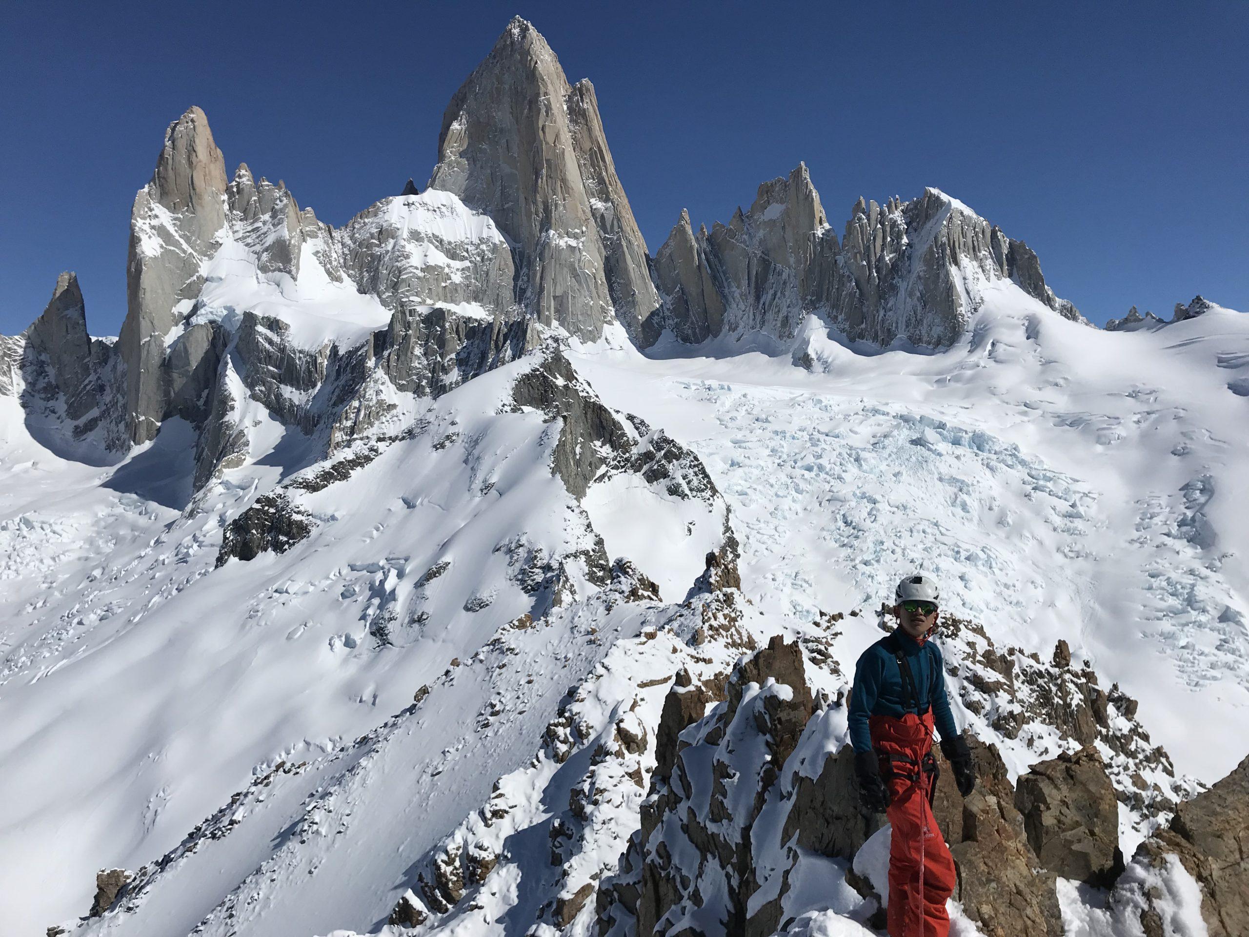 Cerro Madsen ascent